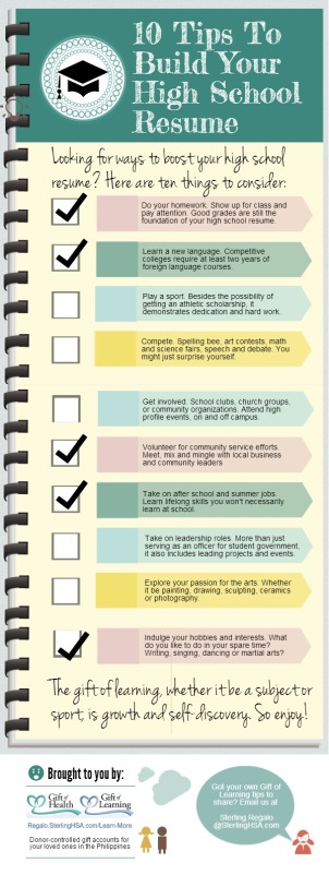 10-Tips-to-Build-Your-HS-Resume